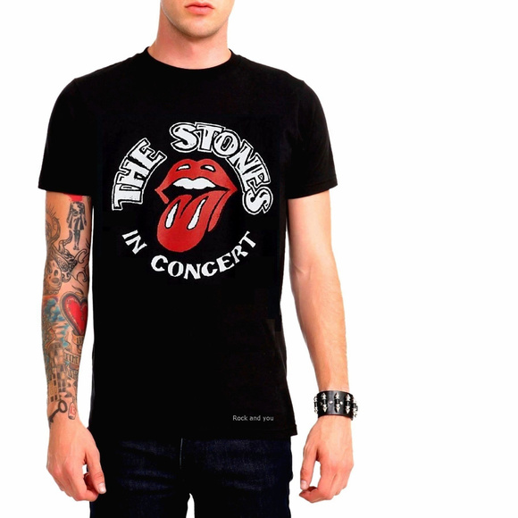 The Rolling Stones Other - Rolling Stones In Concert Logo T-Shirt M L XL NWT